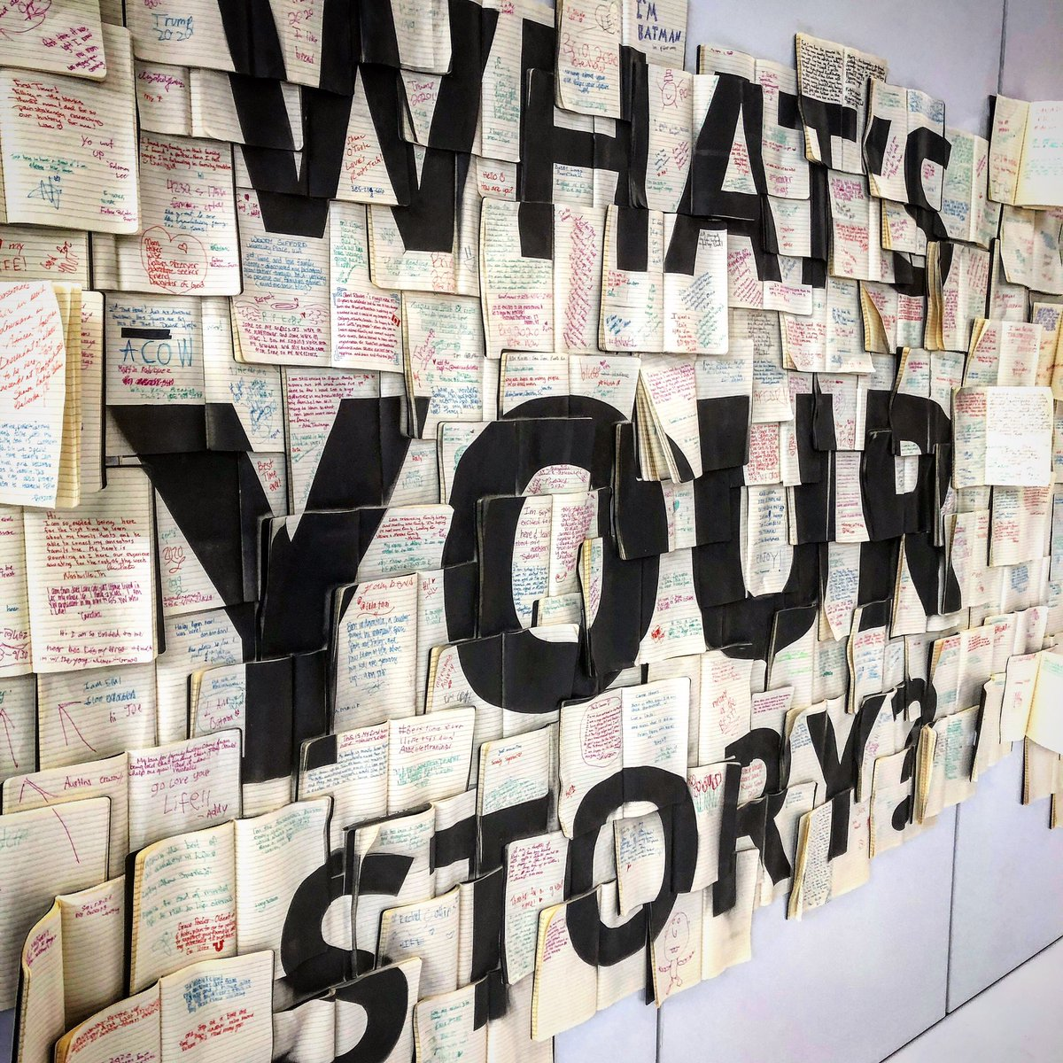LOVE how full these pages are getting! Overall message is taking root - keep writing the Story of You! #RootsTech #rootstech2020 #rootstech10years #story #genealogy #you #storyofyou #whatsyourstory #WritingCommunity #amwriting #writing https://t.co/4B9bF4SP0a