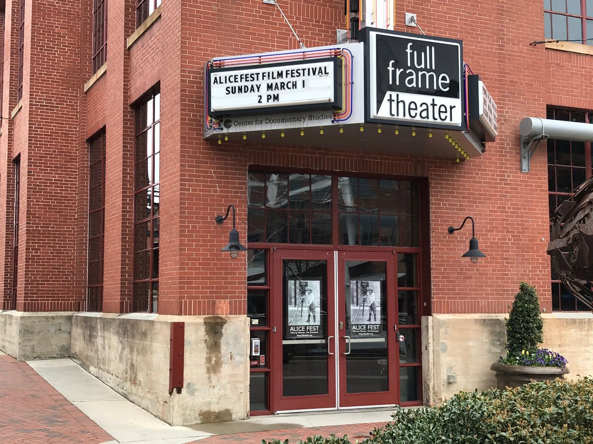#REMINDER: The 9th Annual ALICE FEST is this SUNDAY, MARCH 1 at the #FullFrame Theater in @DurhamNC! Admission is FREE; RSVPs required. And former #CDSCourses Director April Walton will be recognized at the festival with a reception in her honor! More at https://t.co/kKeblzPGGb. https://t.co/bzc7pNgRwU