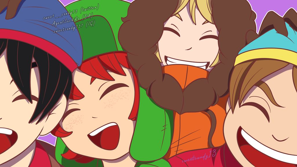 Team Stan ❤️ Maybe I'll do Team Craig later on. Credits for reference in my DA #teamstan #southpark #friends #sweetcandy13art