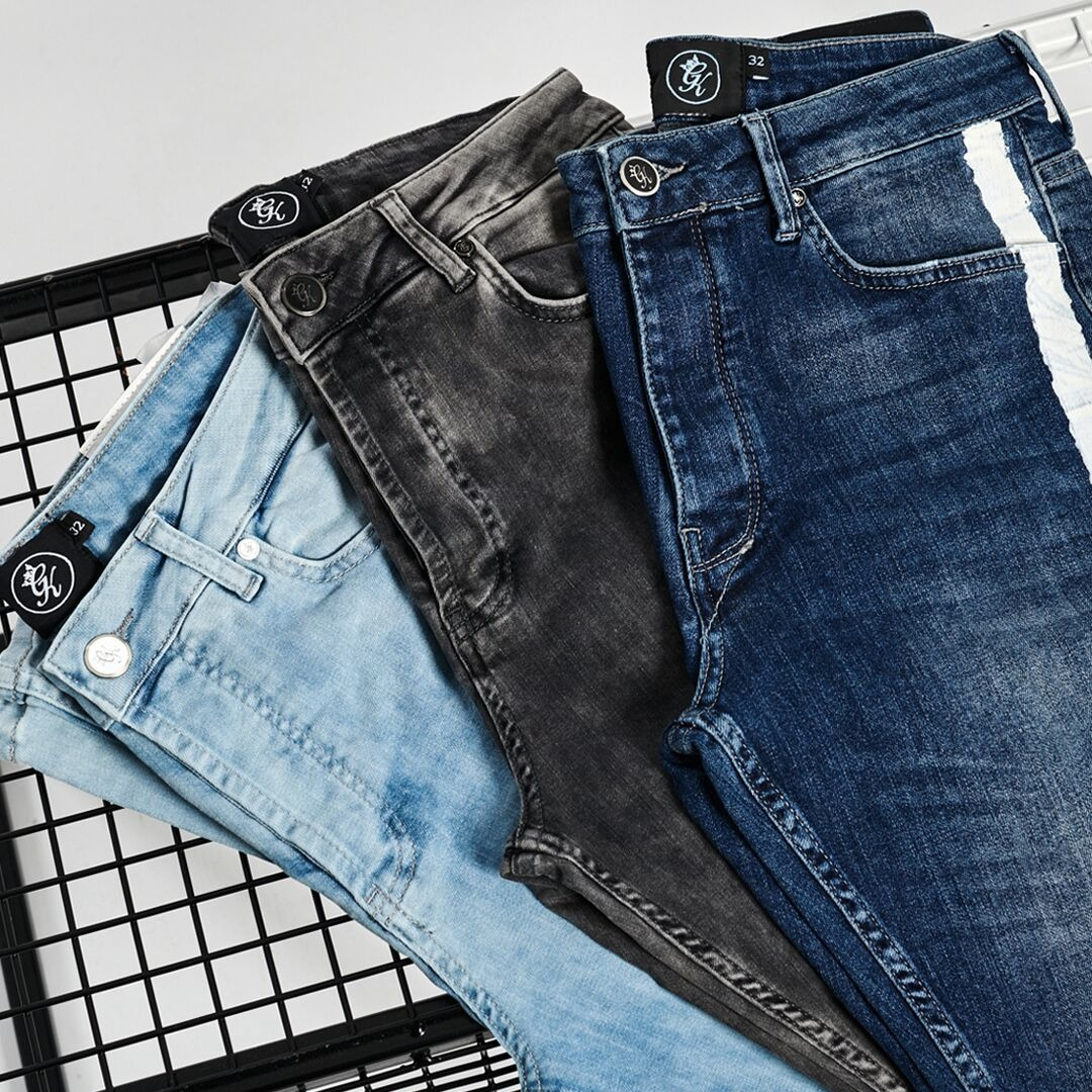GK Denim Shop. Classic styles in a range of washes - bit.ly/3a5vXiP #denim #jeans #shorts #fashion