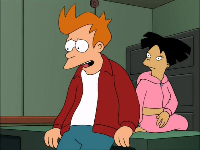 You and Morgan were having an affair?  I couldn't help it. She loved me because of the part of me that's a slob and I loved her because of the part of me that's desperate.  #Futurama<br>http://pic.twitter.com/MqTMYjdrXe