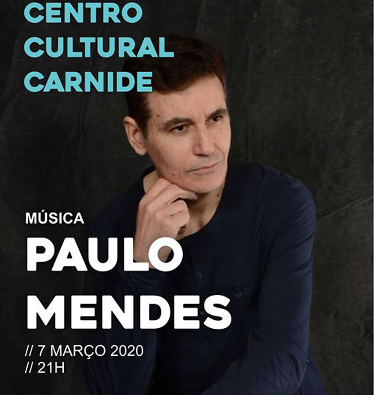 Paulo Mendes | March 7th Carnide Cultural Center Connected to music since he was a child, Paulo Mendes let himself be carried away by his charm, starting early to compose his music.  #carnide #concerts #entertainment #music #PauloMendes #portugal #portu