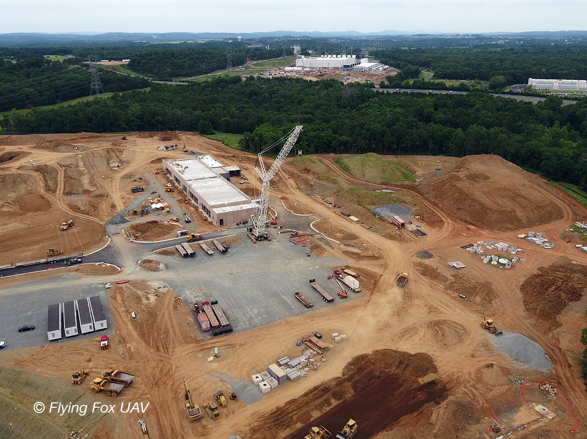 Our clients use aerials to track the progress of their sites! Being certified to be on site, having the insurance and the background to do the work is important! #flywiththefox<br>http://pic.twitter.com/RLgbQG4FkA