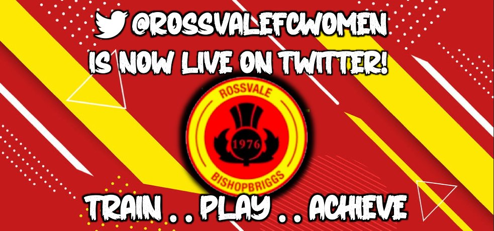 #RossvaleFC Women are now live on Twitter! #Follow @RossvaleFCWomen to keep up to date with plans, signings, sponsorship announcements and MORE for Season 2021! EM rossvalefcwomen@gmail.com for more information 🔴🟡