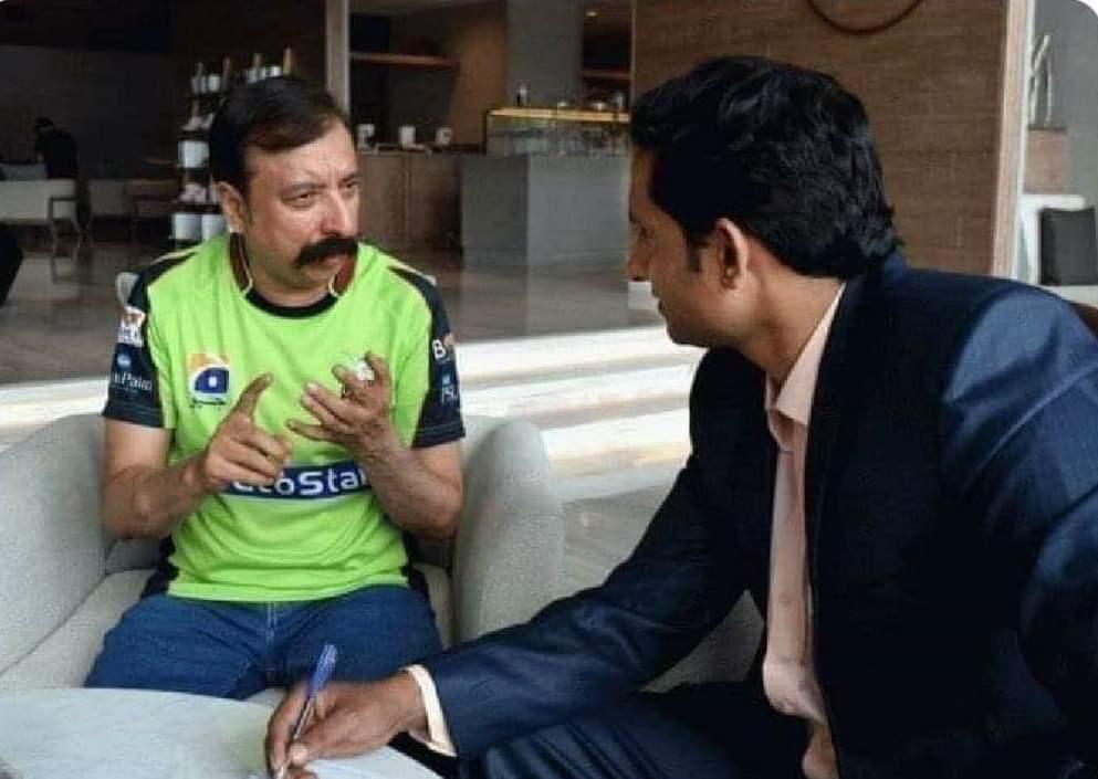 """""""Dekheeye yeh maamla mai #PCB me uthaonga, itna target meri team 20 overs mein nahi karti inhon nay 12 over mein de dia."""