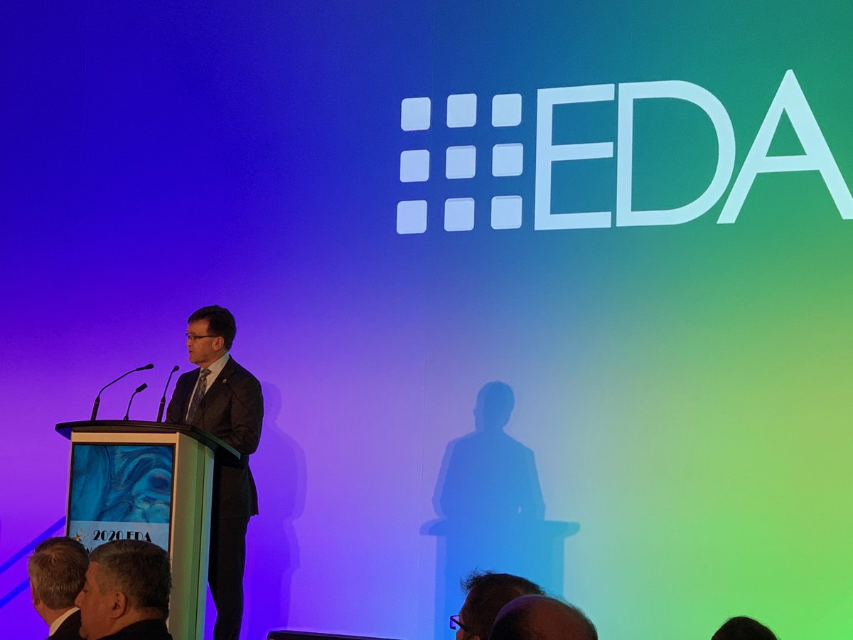 Congratulations to all the winners, including @alectranews and @HydroOne, at last night's #EDAAWARDS!   We are always proud to celebrate #PowerOfLocalHydro. Here is Associate Minister of Energy @billwalkermpp speaking at the Gala.  Thank you for hosting, @EDA_ONT!pic.twitter.com/ZZFlLPVLki