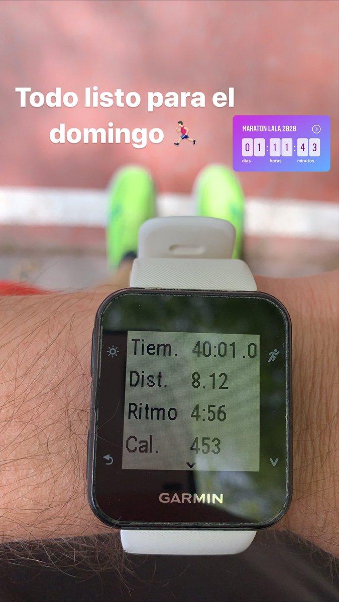 Última corrida para el domingo #pistospics #mirunning #coyot3sportteam  #coyot3 #nike #nikerun #nikeplus #running #run #runner #yoelegicorrer  #garmin #saucony #instarunner #instarunnersmty #forerunner35  #instarunners #instarunersnl #NRC #toritosteam #maratonlala2020 #MPM20pic.twitter.com/BX3EZDOlCu