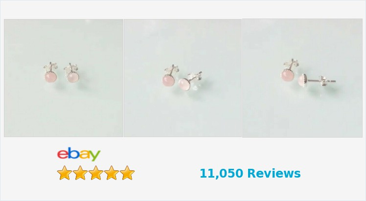 New 925 Sterling Silver & Rose Quartz 5mm Milled Edge round #stud Earrings -boxed | eBay #handmade #sterlingsilver #rosequartz #pink #milled #edge #stud #earrings #jewellery #pretty #healing #jewellery #gifts #giftsforher #giftshop #jewelry #accessories