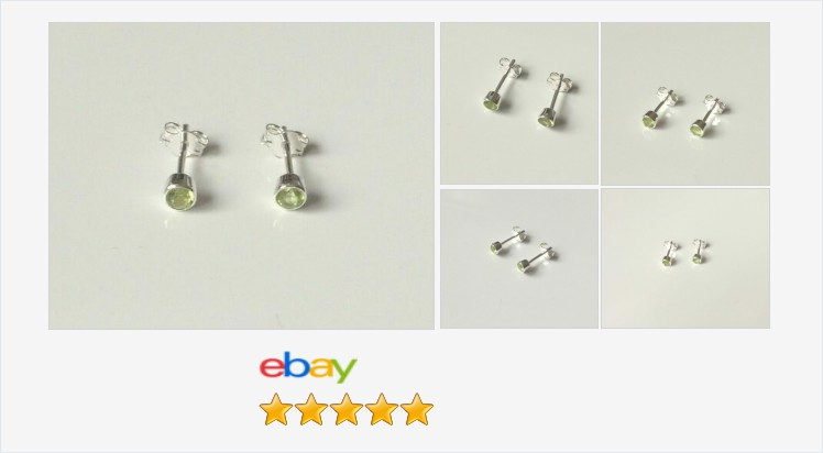 Brand New 925 Sterling Silver and 3mm Peridot bezel set #stud earring | eBay #sterlingsilver #peridot #bezel #stud #earrings #handmade #jewellery #gifts #accessories #jewelry #pretty #giftideas #giftsforher #giftshop #jewelryaddict #fashion #beauty