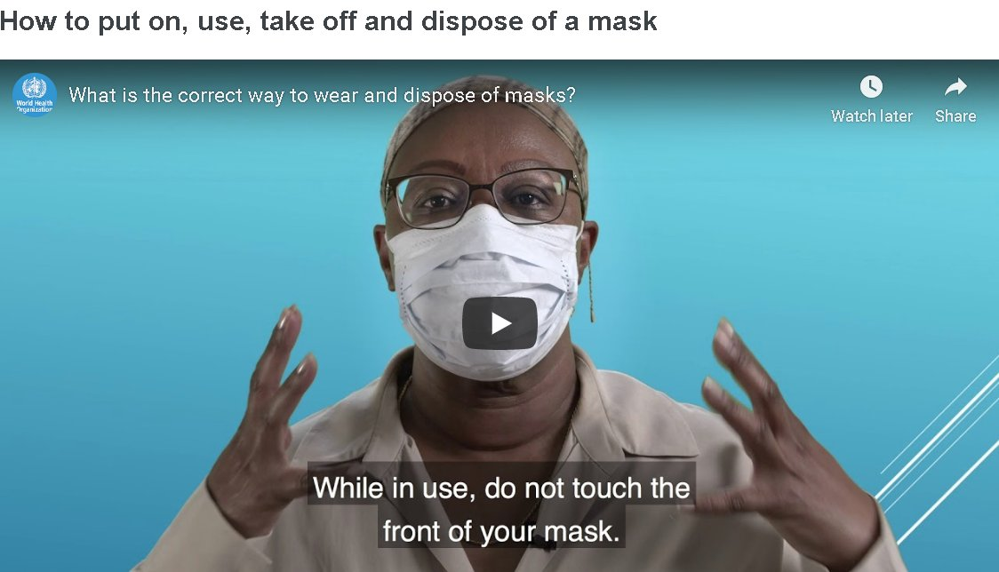 Mask and Respirator Shortage - Who Should Wear One? - mailchi.mp/710360147e79/m…