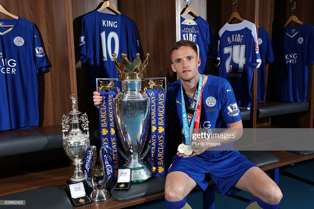 It seems like a no-brainer, but Andy King should be among the first inductees to the Premier League Hall of Fame. The first and only player to win the top three divisions with the same club and Leicester's most-capped international is an absolute legend.#BBCFootball