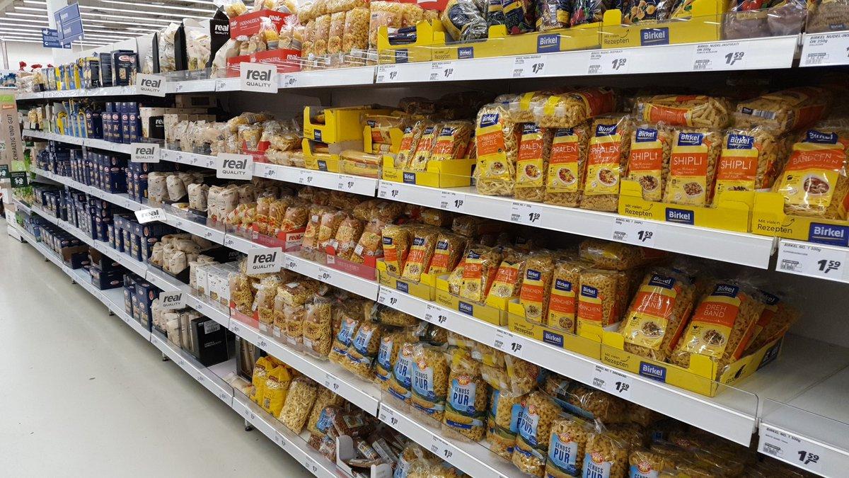 Tady zásoby těstovin vypadají v pořádku :)) https://t.co/6k5nYdSFxx