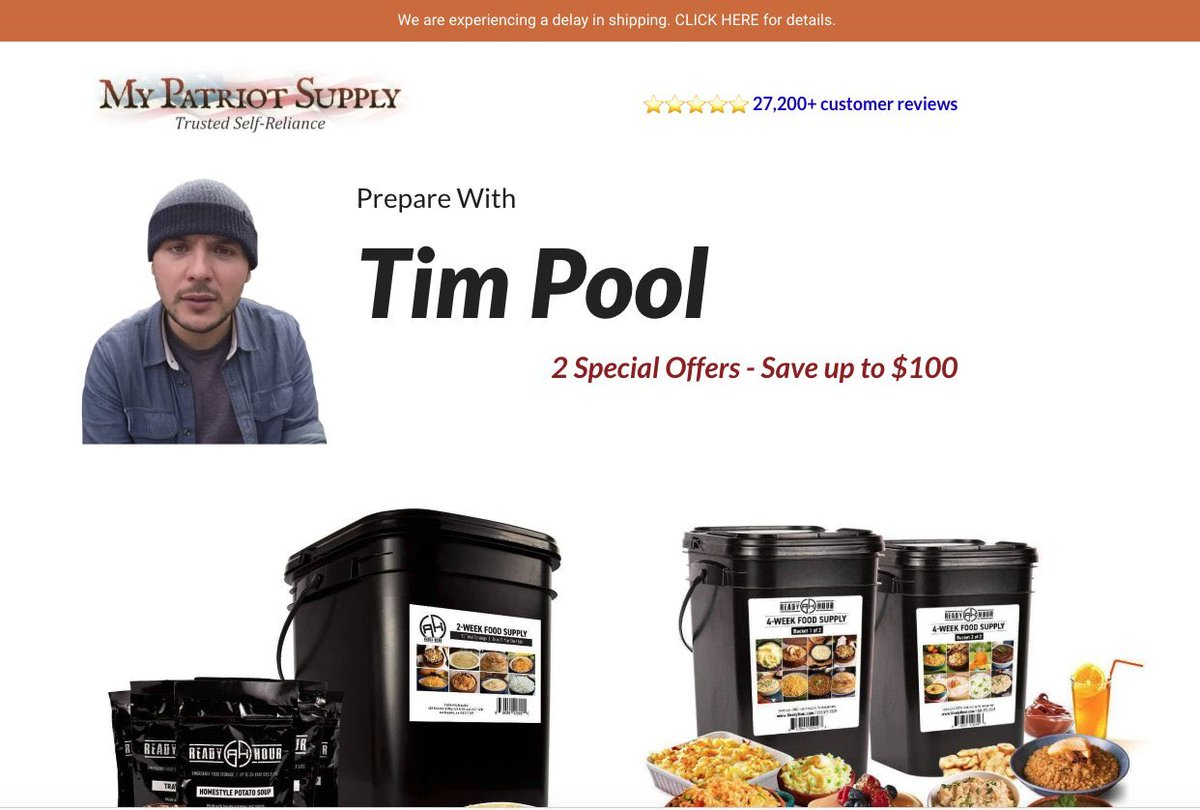 Ground Zero Media My Patriot Supply Deal - Simple Storage ...