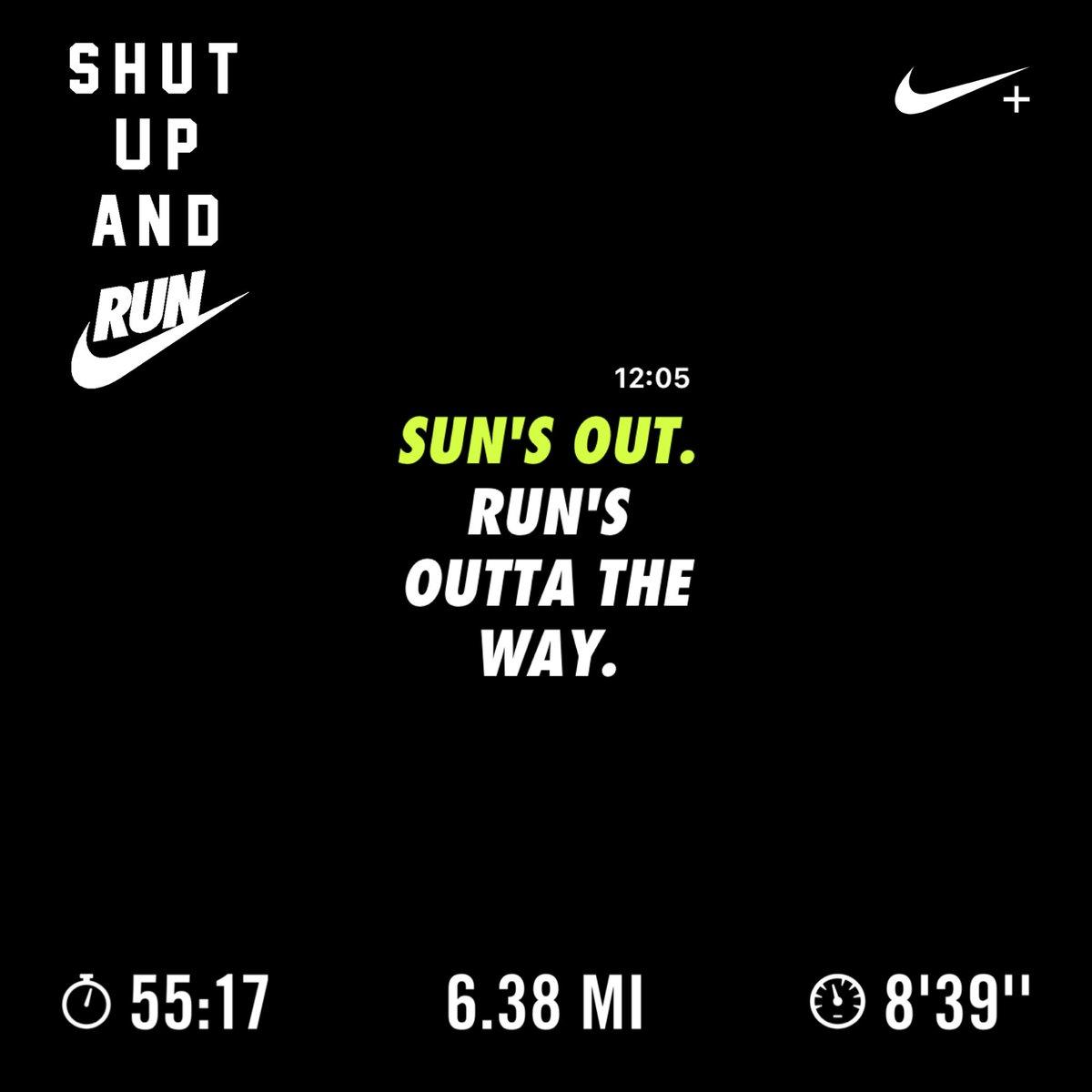 2/28/2020 - TGIF  Every run has a purpose.   #RunMcKinney #RunTexas #instarunners #justdoit #nrc #nikerunning #nikerunningclub #allineedisonemile #RunWithHCM @nikerunning @teamnike #RunTheYear #2020in2020pic.twitter.com/sgRVq0I3ob