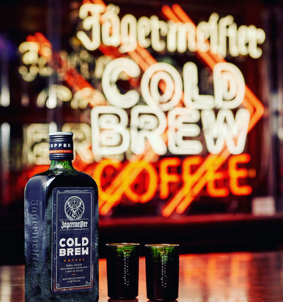 NEW😎#JagerColdBrewCoffee☕️ #PROMO☠️ #Madness🙀@OutRInn🏡 7️⃣HUGE @jagermeister #PROMOS🏒 Feb 28th March 20th•27th April 3rd•10th•17th @10pm‼️ #Samples #Swag #Party🎉 #Jager💚🧡#JagerChill❄️#DeersBlood🦌 #56ingredients🌿#JagermeisterLove🖤 #Meister🥃#NHL🥅#CBJ