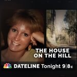 Image for the Tweet beginning: Tonight - an all-new @DatelineNBC