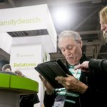 Image for the Tweet beginning: RootsTech brings thousands to Utah,