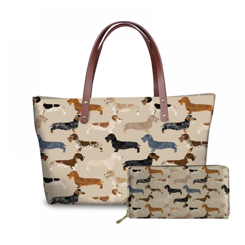 #cool #photo Creative Dog Printed Handbag