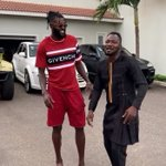 Image for the Tweet beginning: 'Big Boy' Emmanuel Adebayor Steps