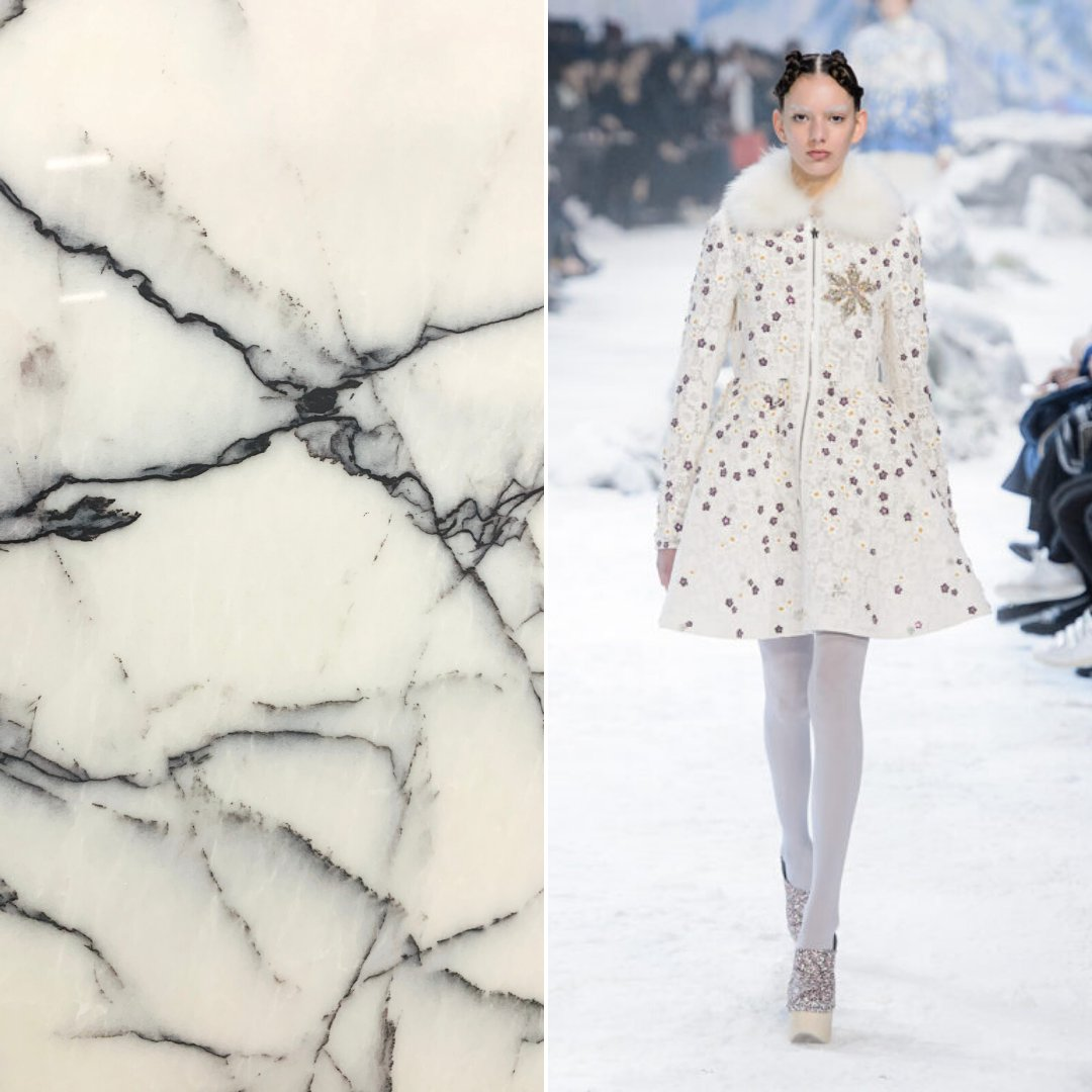 FASHION FRIDAY 🍦 Its still freezing! So our Lilac Marble is paired with this totally chic @moncler stunner! Keep warm folks!!!   #fashionfriday #marble #moncler #newenglandweather #winter #marblefabricator #whitemarble https://t.co/qd0wMJWakK