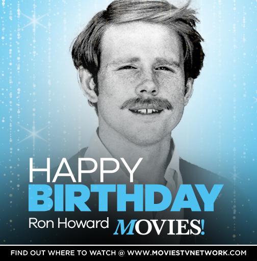 Happy Birthday to Ron Howard!