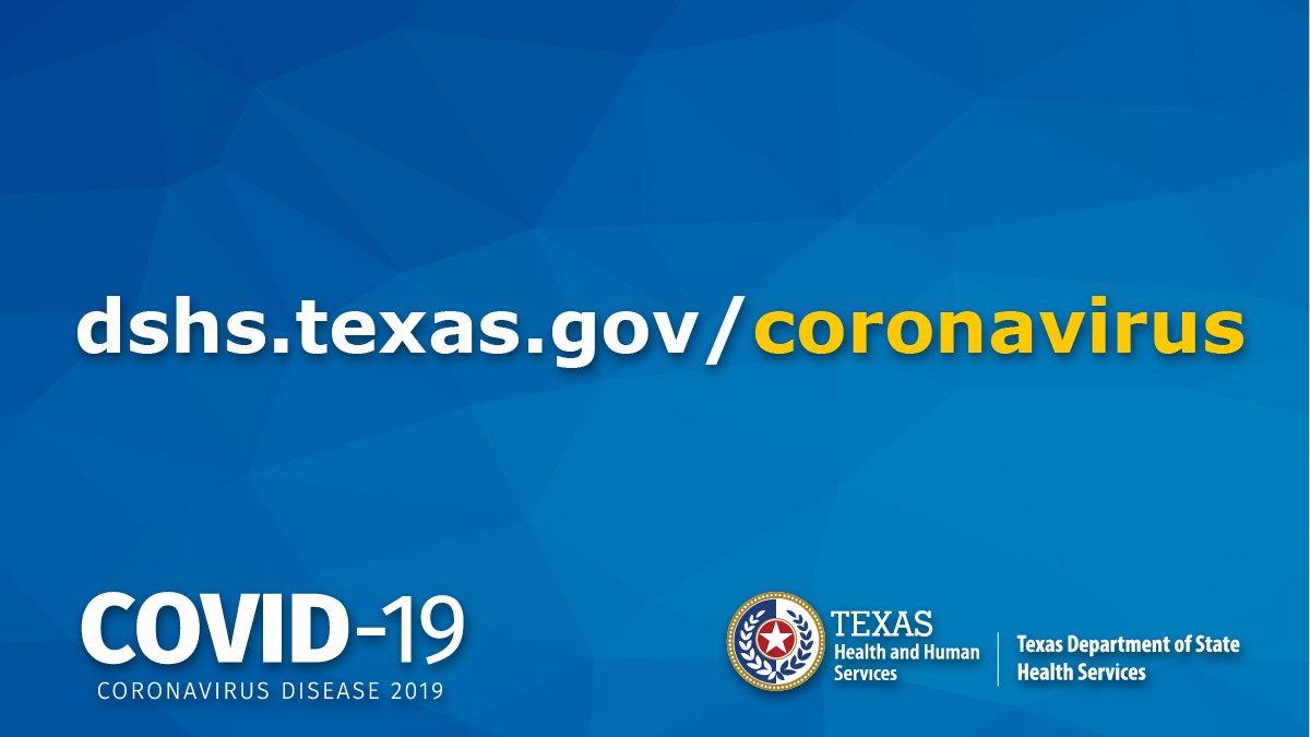 coronavirus in usa texas
