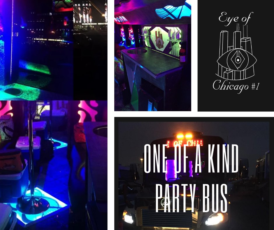 Did you know? The Premiere is a Mercedes Benz Freight Liner which is truly one of a kind. Book it for your event today. 📞312-399-4670/773-263-1613 #partyplanning🎉 #wedding #chicagopartybus🎉 #eyeofchicago1partybus🎵🚍🎶 #party #event