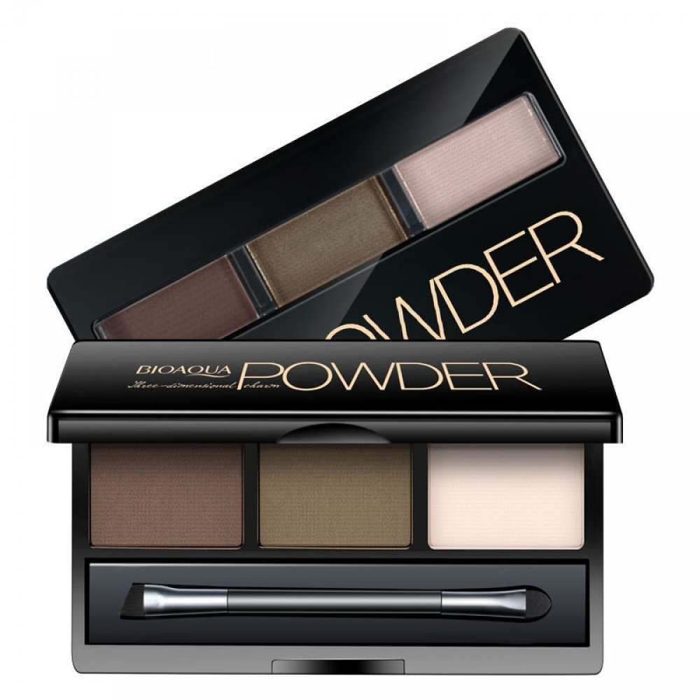 #Hair #makeup Eyebrow Powder Kit