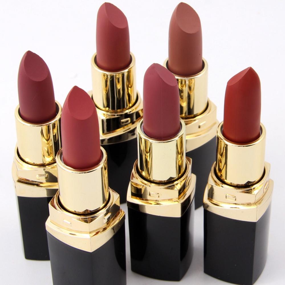 #Hair #makeup Matte Waterproof Long Lasting Nude Lipstick
