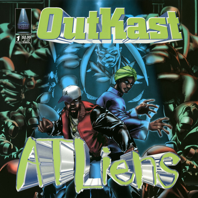 """Liked on Spotify: """"ATLiens"""" by OutKast https://ift.tt/1Iv3h1l"""