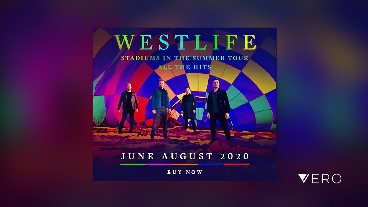 Have you got your tickets for Westlife's huge Summer tour, yet?  #westlife #music #tour #tickets #vero @westlifemusic