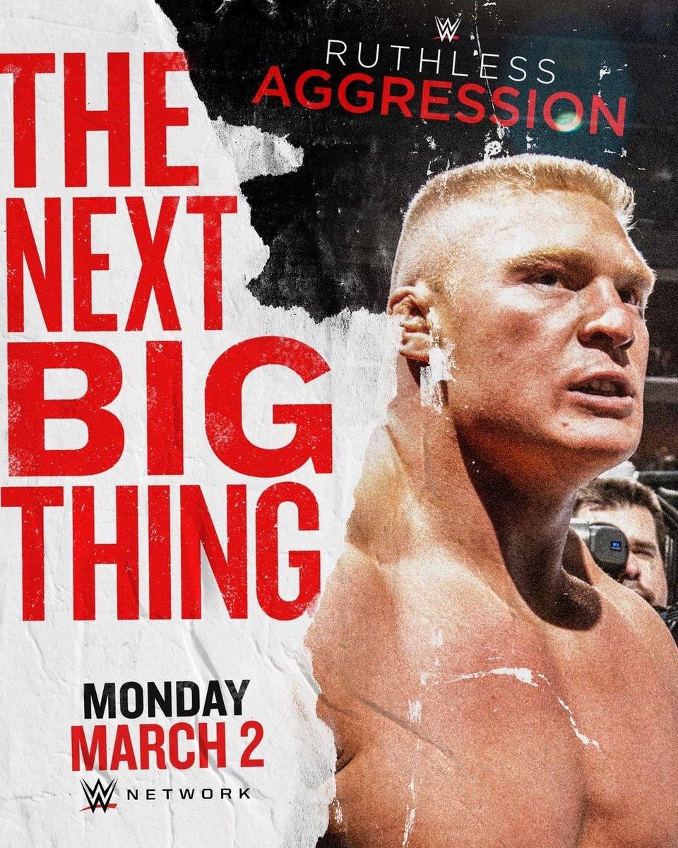 #FlashbackFriday courtesy of @WWENetwork #NextBigThing #RuthlessAggression #YourHumbleAdvocate #BrockLesnar