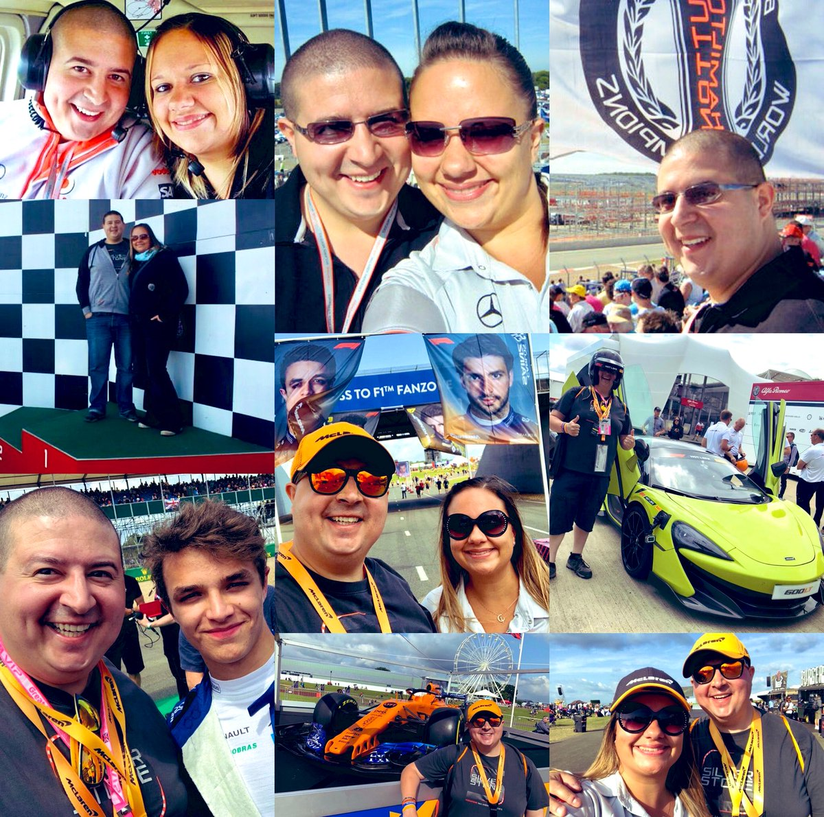 @SilverstoneUK @McLarenF1 @F1 I have so many favourite McLaren memories supporting the team; a helicopter ride over the circuit, standing on the podium during a tour; meeting Lando on the grid after my #F1PirelliHotlaps experience, sitting opposite @SilverstoneWing when it was being built with Mrs B! #MCL35 https://t.co/QAVyfo4qyt