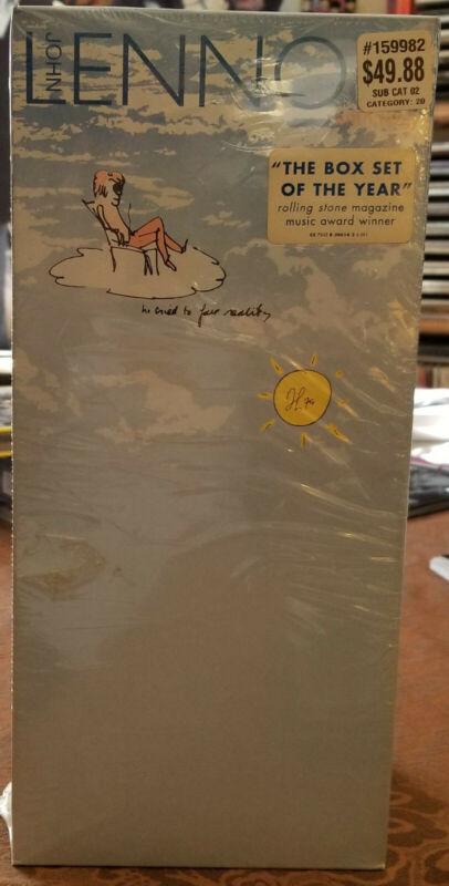 John lennon anthology CD Set Sealed Long Box HTF.  https://t.co/bgQgz9YbIt  #JohnLennon https://t.co/XT3WTB7OSG