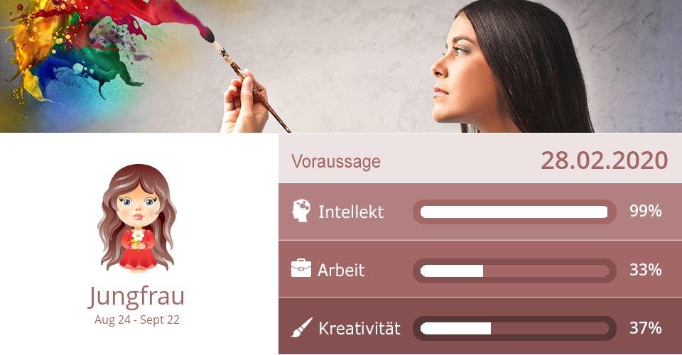 28.02.2020: Arbeit & Kreativität => Mehr Infos: http://x9x.com/de_vi #Jungfrau #Horoskopepic.twitter.com/KdX4hl5AIp