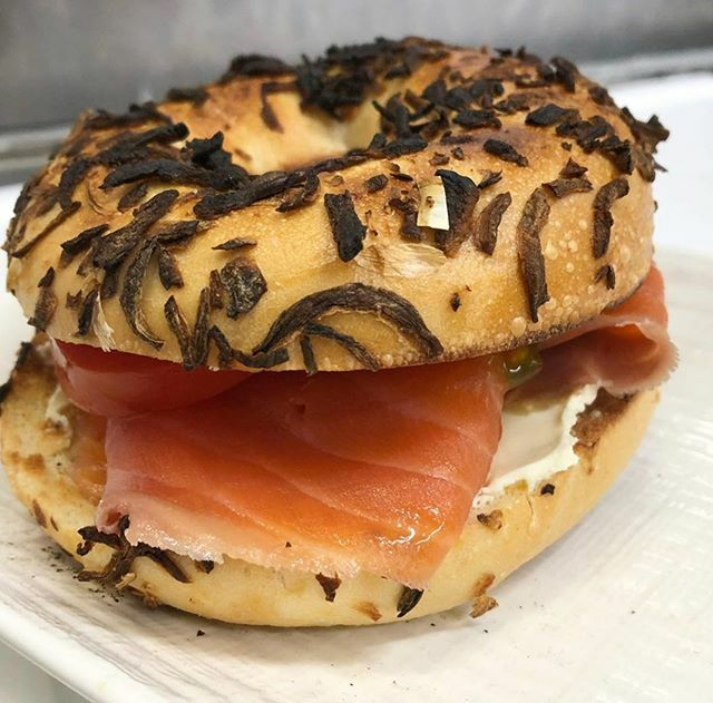 Our cold smoked ocean trout makes the best breakfast! Sandwich some between a sliced bagel with some tomatoes and cream cheese like the guys at @thefishshoppe and you're set! 🥯https://ift.tt/2TvpG9I