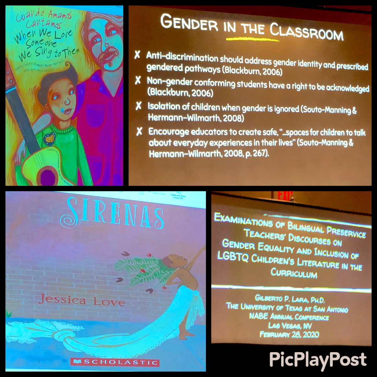 test Twitter Media - Thank you @NABEorg and Dr. Lara for such an informative and motivating session focused on #GenderEquality and fostering #InclusivePractices by using #LGBTQ children's literature! #NABE2020 #Inclusion #Equity  #CulturalCompetence @HISDMultiPrgms @MLAnnaWhite @Jererita_Wilson https://t.co/Eu1V5vpCGL