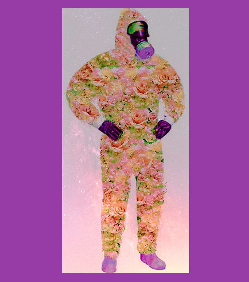 #5 Couture Hazmat Ensemble. Homage to Rudi Gernreich. Watercolor 2020. I'm inspired by The Met's Costume Institute's spring 2020 exhibition which will be About Time: Fashion and Duration. #metgala #fashion #vogue