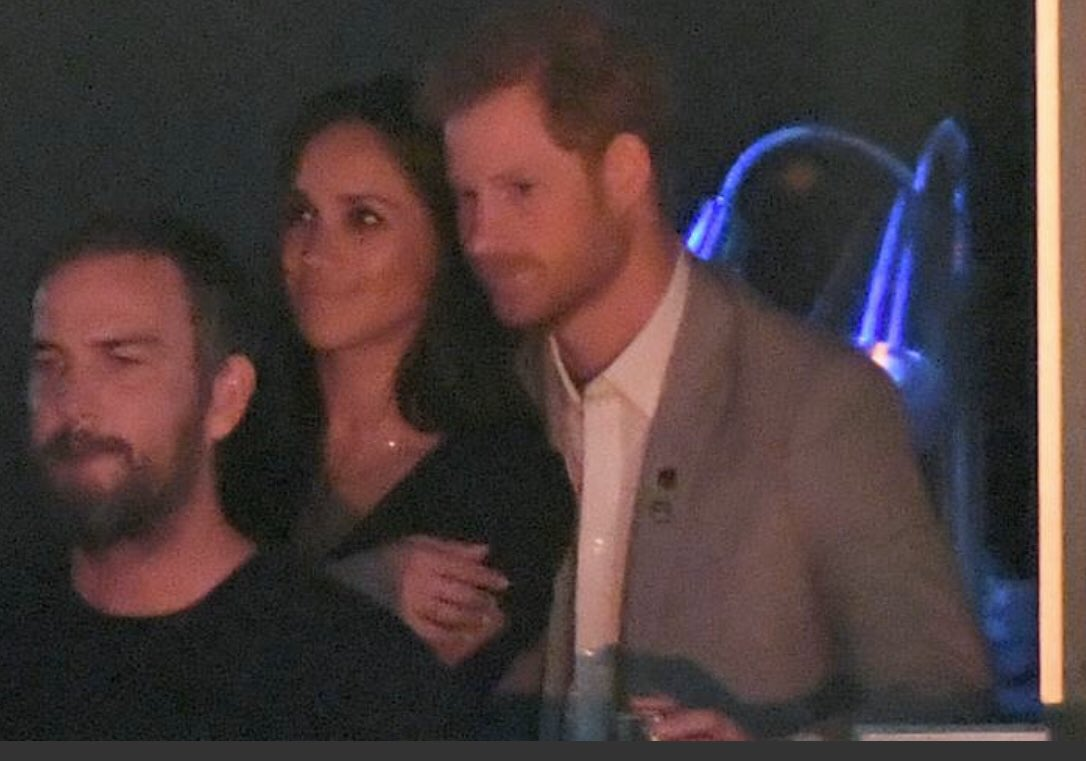 What if the real relationship isn't Harry & Meghan? What if the real relationship is Harry & Marcus? He's gazing at Marcus, not Meghan,  in most of these photos. #MeghanMarkle #MEGXIT #Royals #Sussexpic.twitter.com/whhx7TOSpe
