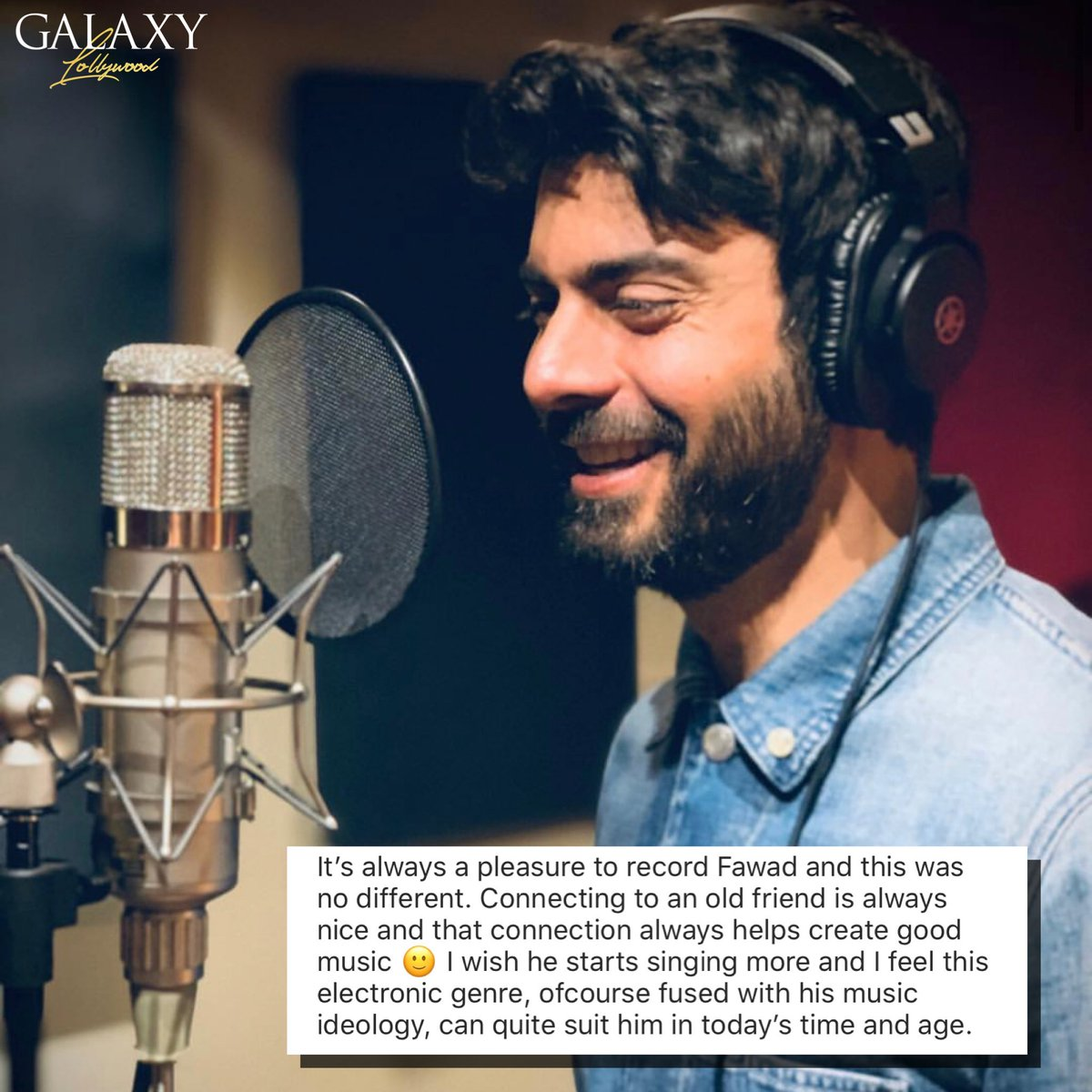 Xulfi loved recording 'Khel Ja Dil Se' with Fawad Khan while wishing he would sing more often.  Don't you guys think so to? #FawadKhan