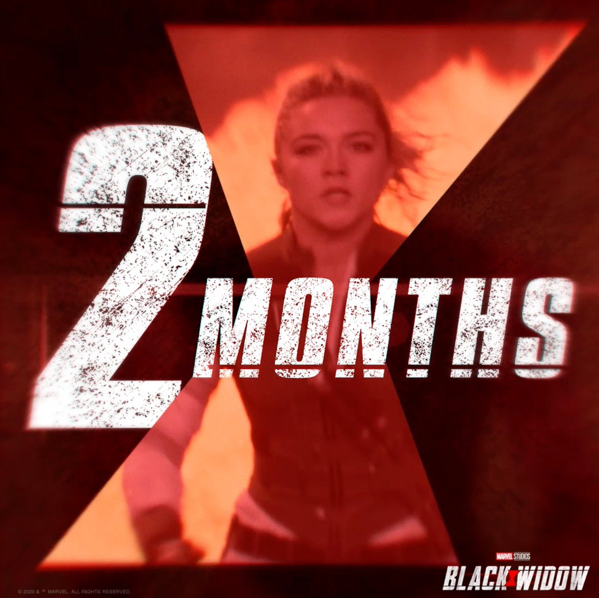 See Marvel Studios #BlackWidow in theaters in 2 Months!