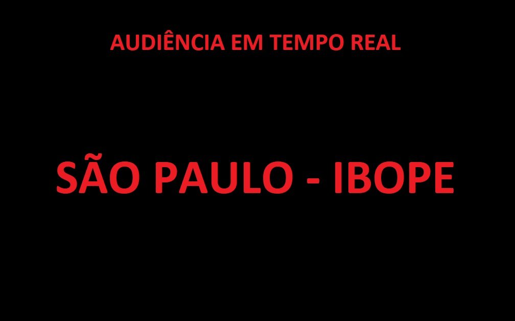 20h51:Globo 29.4SBT 10.5Record 8.1Band 1.5Cultura 0.3RedeTV 0.2Gazeta 0.0#JornalNacional #RodaARoda @RebecaAbravanel#AmorSemIgual57 #OuroVerdeNaBand Via @BastidoresDaTV