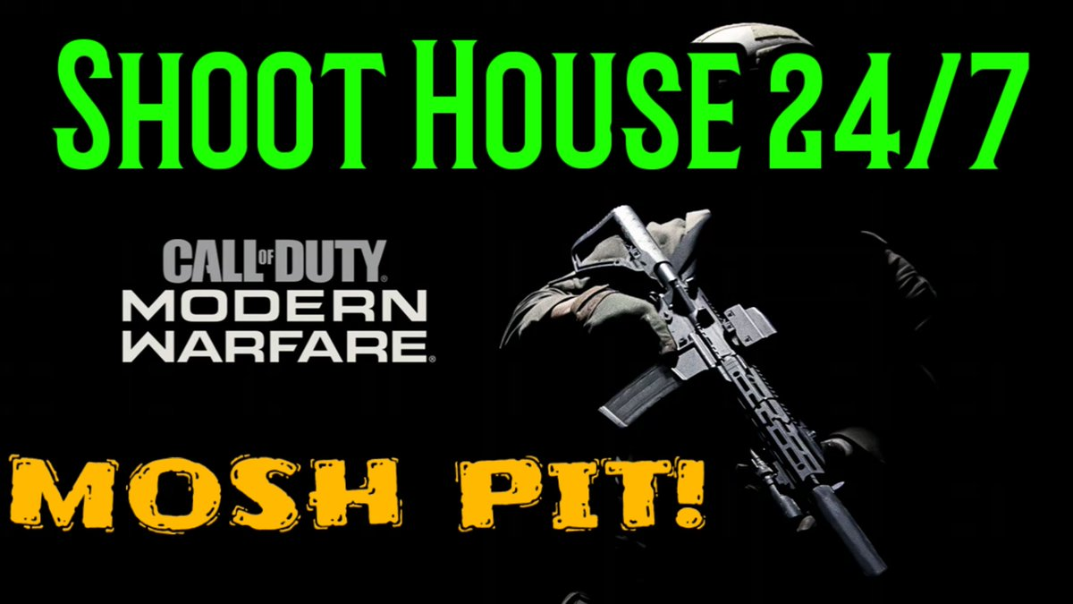 #CallofDutyModernWarfare SHOOT HOUSE 24/7 Thank you for checking out my #YouTube GAMING  channel → Games2Play4Sure! I'm just sharing my gameplay from various games I enjoy on Xbox One, PS4 and Android devices. TAP HERE https://youtu.be/MaZIUVfTgjspic.twitter.com/hBXY1HrxOO