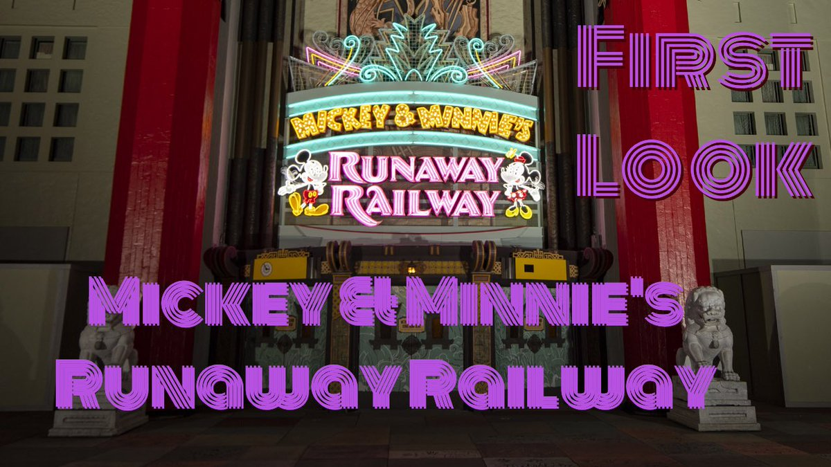 NEW VIDEO-Mickey & Minnie's Runaway Railway Teaser! First Look Inside The New Attraction at Disney's Hollywood Studios!  Tap to watch:https://youtu.be/SW-VupQDvrY   #DisneyWorld #HollywoodStudios pic.twitter.com/gxsjiYQRwR