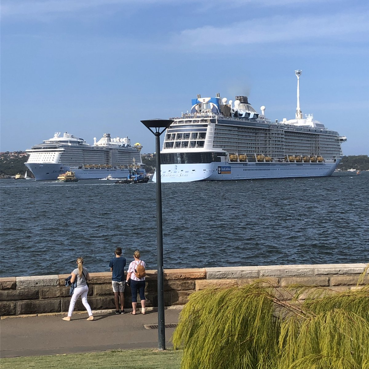 """Ron on Twitter: """"@RoyalCaribbean Spectrum of the Seas passing ..."""