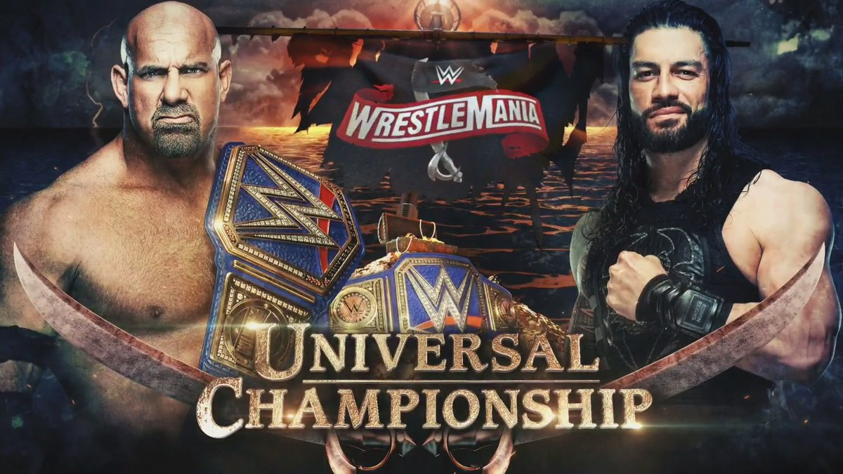WWE Universal Championship Match Confirmed For WrestleMania 36