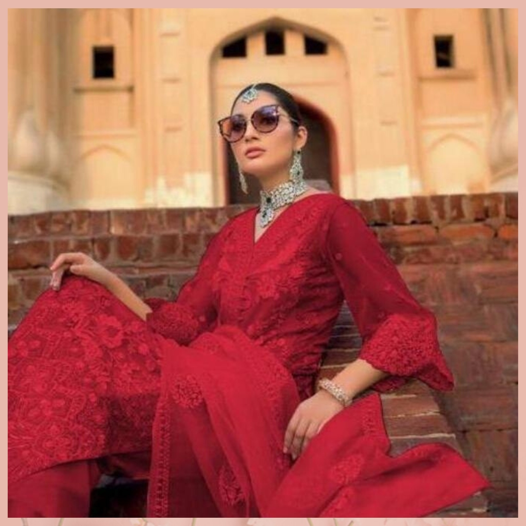 """Comment """""""" if you love this Red Embroidered Net Salwar from @mirraw. Shop now and get up to 80% off. Product ID - 3162372 Product details & price - http://bit.ly/386j86x . . #ClassicSale #RelivIndia #Trendy #RedSalwar #Salwar #Mirrawstyle #Ethnicwear #Mirrawpic.twitter.com/JUOI3M0HvX"""