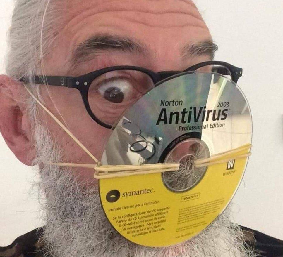 Norton AntiVirus...しかも2003w