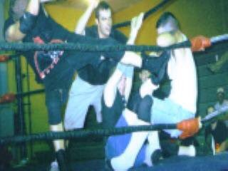 J.C. Bailey's dad Joe Bailey's promotion Bad 2 the Bone Wrestling. A junior heavyweight inspired by guys like Tarek the Great, American Kickboxer, Super J Cup 94 & a guy he got to share the ring with, Reckless Youth. He won the IWA light heavyweight title on 2 occasions. pic.twitter.com/BM52Cs1pDZ