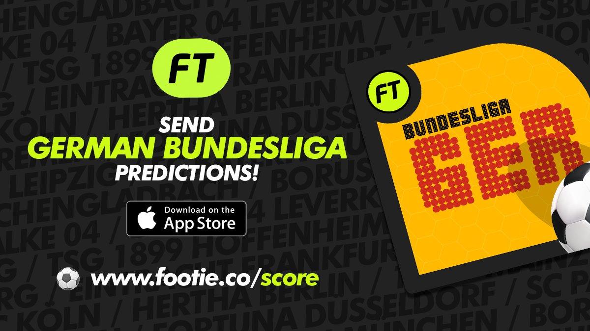 #Share #Bundesliga #predictions with #iMessage!  http://www.footie.co/score  #GER #Germany #Scores #Predictor #Predicting #football #Deutch #Deutschland #Dortmund #b04f95 #leverkusen #bayer #bayerleverkusen #wolfsburg #Frankfurt #bayern #Schalke #SaturdayMotivation #SaturdayMorningpic.twitter.com/B6XPjUehoJ